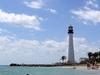 Cape Florida Lighthouse From Beach