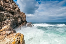 Cape Of Good Hope Coast SA Table Mountain National Park