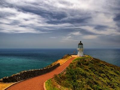 Cape Reinga Lighthouse - Coromandel Peninsula NZ