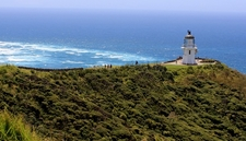 Cape Reinga Lighthouse With Landscape - Northland