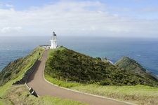 Cape Reinga Lighthouse With Cape View - Northland