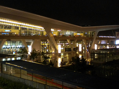 Cape Town International Airport At Night