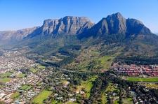 Cape Town SA Aerial View