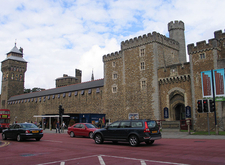 Cardiff Castle Front