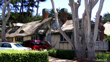 Typical Fairytale Cottage-style Carmel Architecture