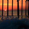Carolina Beach Pier Splash