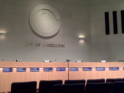 Carrollton  City  Council  Chamber
