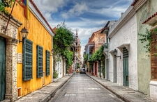 Cartagena Sunday Street View