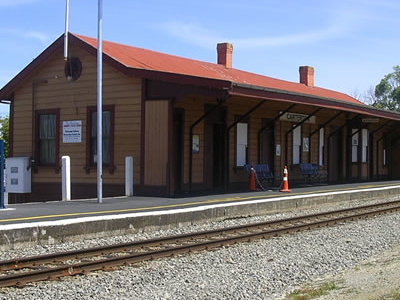 Historic Carterton Railway Station