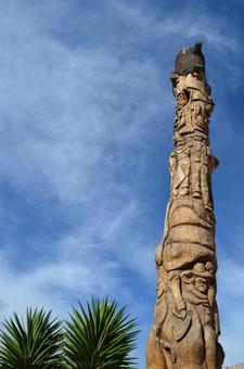 Carved Obelisk