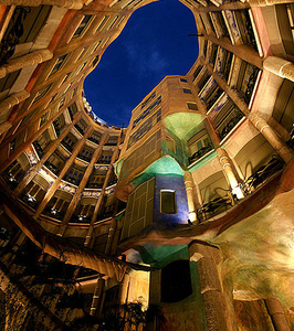 Casa Milà Atrium