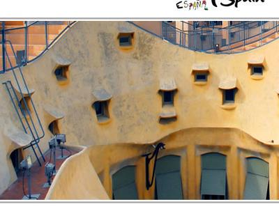 Casa Mila La Pedrera House Barcelona