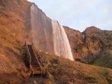 Cascada De Seljalandsfoss - Stairway