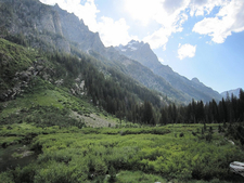 Cascade Canyon Trail Views - Grand Tetons - Wyoming - USA