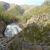 Cascading Gibbon Falls