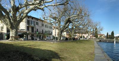 Caslano  Centro  Panorama