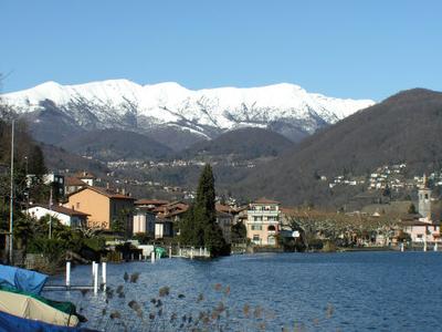 Caslano   Caslano Village