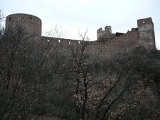 Castel Firmiano Backside