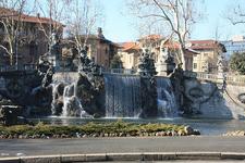 Castello Del Valentino Fountain