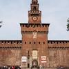 Castello Sforzesco Front View - Milano