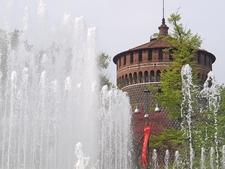 Castello Sforzesco - Milano - Winter View