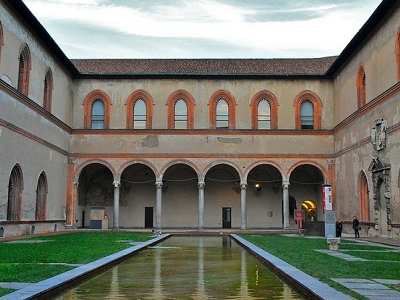 Castello Sforzesco Museum In Milan