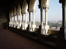 Gothic Gallery In The Castle