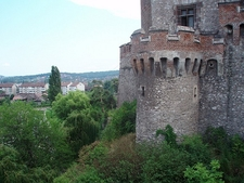 Castle In Hunedoara