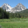 Castle & Merriam Peaks ID