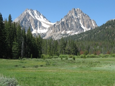 Castle & Merriam Peaks ID