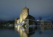 Castle Olavinlinna In Savonlinna - Finland