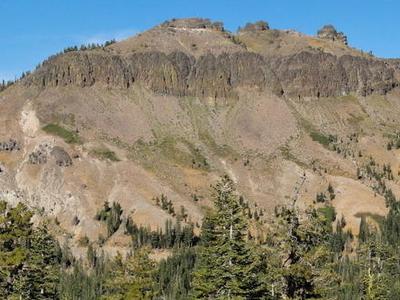 Castle  Peak From  Andesite  Peak
