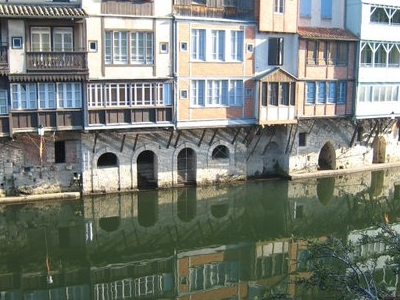 Houses By The Agout River, Castres