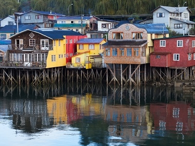 Castro Houses - Chiloe Island