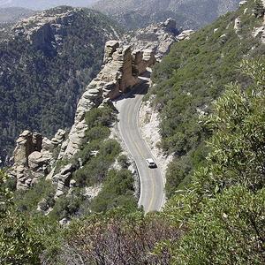 Catalina Highway Climbing Mount Lemmon