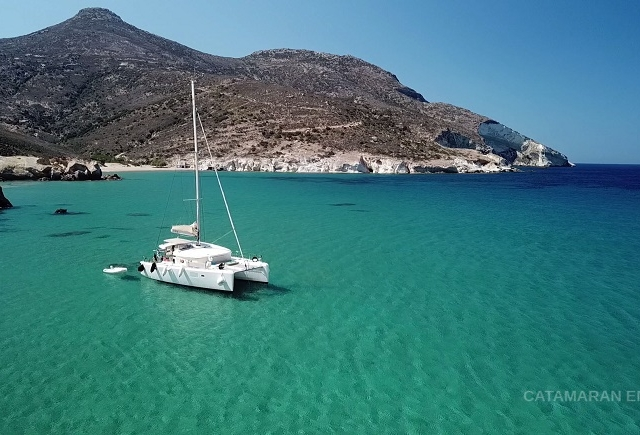 Charter Sailing Yacht in the Greek Islands Photos
