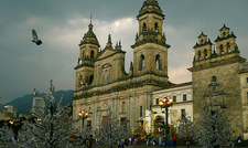 Catedral Primada En Navidad - Bogota Colombia