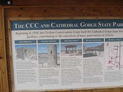 Cathederal Gorge Details