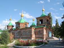Cathedral In Karakol
