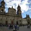 Cathedral Of Bogota In The Bolivar's Square