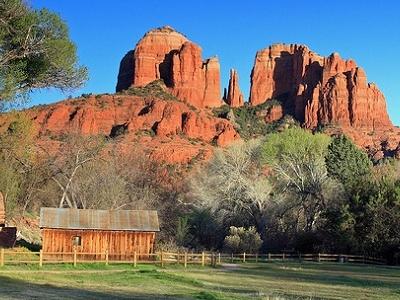 Cathedral Rock AZ - Close View