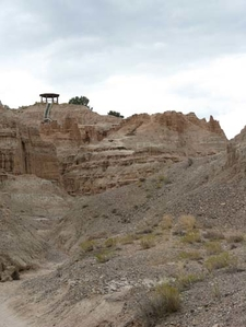 Cathedral Gorge Overlook