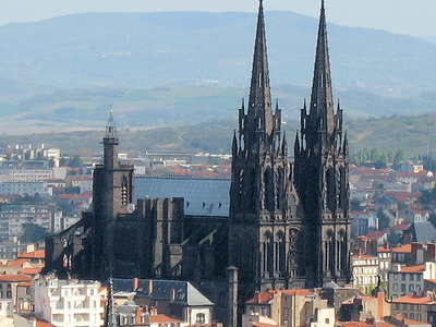 Cathedrale Vue De Montjuzet