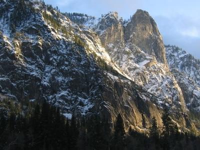 Sentinel Rock At Sunset