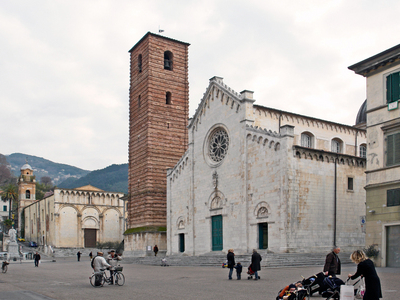 Cathedral Square With The Church Of Sant'Agostino