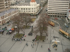 A View Of Cathedral Square