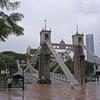 Cavenagh Bridge - Downtown Singapore