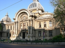 CEC Bank - Bucharest - Front View