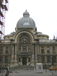 CEC Palace - Historic Monument In Bucharest