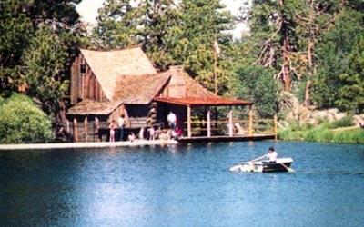 Cedar Lake And Sawmill